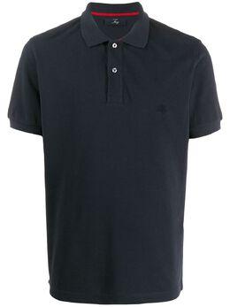 Fay рубашка-поло с вышитым логотипом NPMB2401520HPAU809