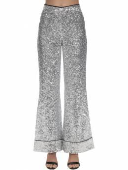 Sequined Flared Pajama Pants In The Mood For Love 71IXU0002-U0lMVkVS0