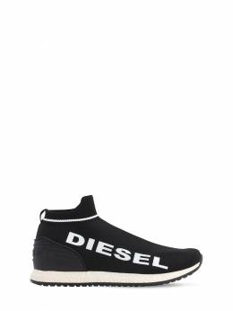Knit Sock Slip-on Sneakers Diesel Kids 71IXR8001-SDU1MTU1
