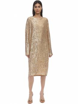 Loose Sequined Dress In The Mood For Love 71IXKL024-VE9CQUNDTw2