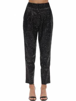 High Waist Sequined Pants In The Mood For Love 71IXKL012-QkxBQ0s1