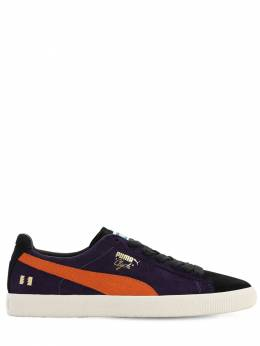 Clyde X The Hundreds Sodalite Sneakers Puma Select 71IWX6009-MDE1