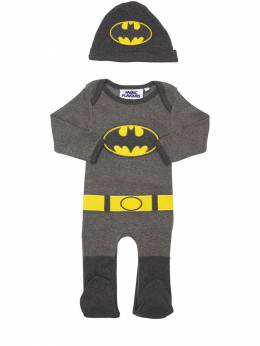 Batman Cotton Jersey Romper & Hat Fabric Flavours 71IWWO015-R1JFWQ2