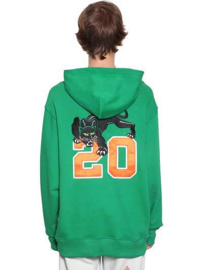 Embroidered Patch Cotton Jersey Hoodie Just Don 71IWWI009-R1JO0 - 4