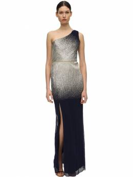Gradient Foiled One Shoulder Gown Marchesa Notte 71IWVN023-TkFWWQ2