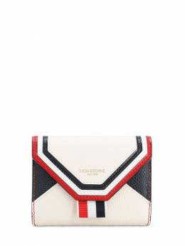 Envelop Grained Leather Compact Wallet Thom Browne 71IWV8007-MTAw0
