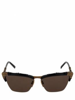 Солнцезащитные Очки Bamboo Effect Cat Eye Gucci 71IWUR001-MTAyMQ2
