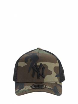 Clean Trucker Ny Yankees Cap W/ Mesh New Era 71IW84011-V0RDQkxL0