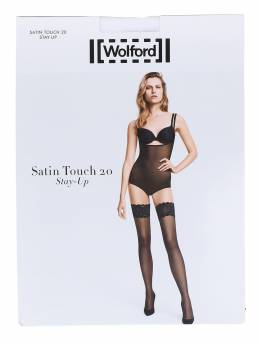 Чулки 20 Ден Stay-up Satin Wolford 71IVOP025-MTAwMQ2