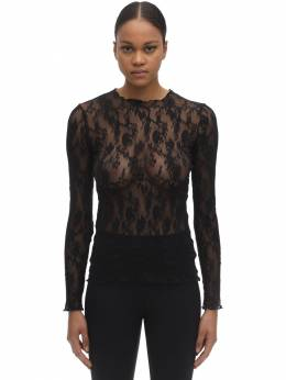 Katharina Long Sleeved Lace Top Wolford 71IVOP004-NzAwNQ2