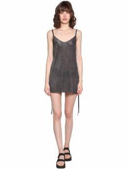 Короткое Платье С Блестками Alanui 71IRTK012-MTAxMA2