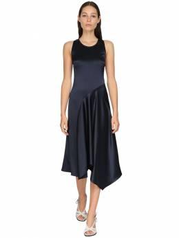 Платье С Диагональным Кроем Из Атласа Sies Marjan 71IRTD007-TVJOVg2