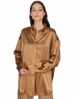 Атласная Рубашка Оверсайз Sies Marjan 71IRTD006-UFJBTEk1