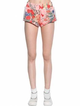 Printed Tech Jersey Shorts Palm Angels 71IRT9015-MzAyMA2
