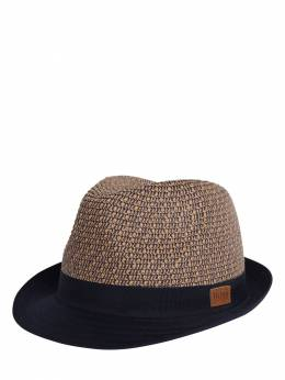 Straw Effect Panama Hat Hugo Boss 71IOFS051-WjQw0