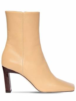 85mm Leather Ankle Boots Wandler 71IMUE006-VE9BU1Q1