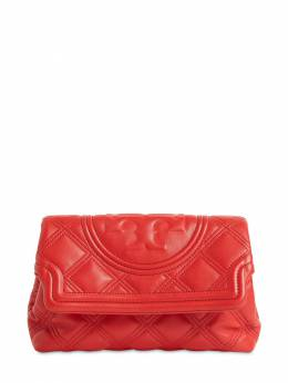 Fleming Quilted Leather Clutch Tory Burch 71IM3V012-NjEy0