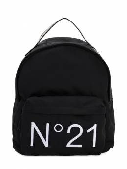 Logo Print Nylon Backpack No. 21 71ILWX015-ME45MDA1