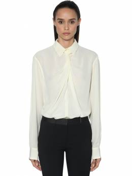 Рубашка Из Крепдешина Victoria Beckham 71IDKX017-VkFOSUxMQQ2