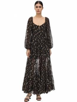 Кружевное Платье С Принтом Rixo 71I7PV023-Njc50