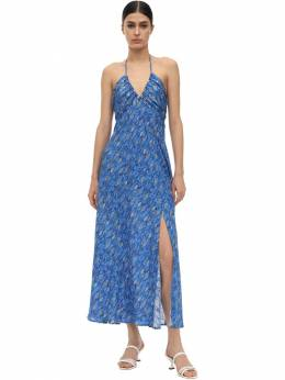 Платье Из Шелка И Люрекса Rixo 71I7PV012-Njcy0