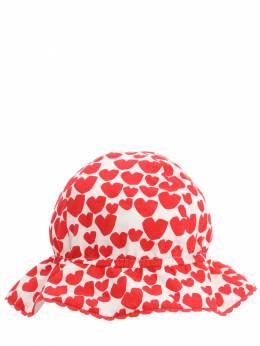 Шляпа Из Хлопка Поплин Stella McCartney Kids 71I6SI028-OTA4OA2