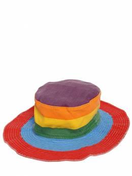 Шляпа Из Хлопкового Деним Stella McCartney Kids 71I6SI009-ODQ4OQ2