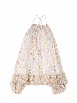 Платье Из Шелка С Принтом Stella McCartney Kids 71I6SH052-OTIzOQ2