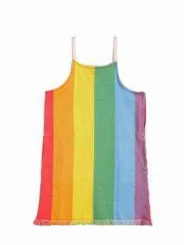 Платье Из Стретч Деним Stella McCartney Kids 71I6SH046-ODQ4OQ2