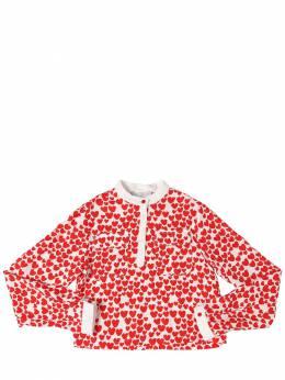 Рубашка Из Органической Вискозы Stella McCartney Kids 71I6SH022-OTA4OA2