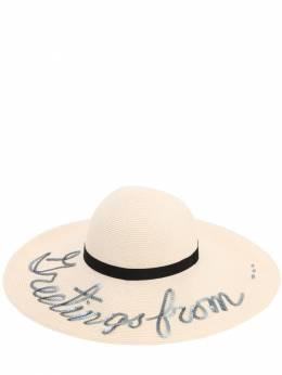 Шляпа 'greetings From...' Eugenia Kim 71I01I004-SVZPUlk1