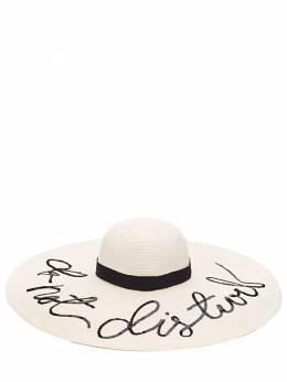 """Шляпа """"do Not Disturb"""" Eugenia Kim 71I01I003-SVZPUlk1"""