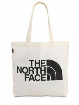 City Printed Cotton Tote Bag The North Face 70IVP3011-Sksz0