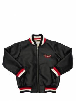 Куртка Из Искусственной Кожи Stella McCartney Kids 70I6SJ047-MTA3Mw2