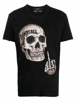 Domrebel футболка с принтом FLIP