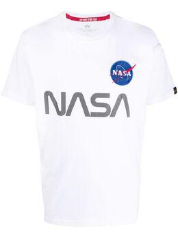 Alpha Industries футболка с принтом NASA 178501
