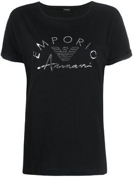 Emporio Armani футболка с логотипом 1643400P291