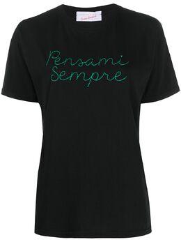 Giada Benincasa embroidered T-shirt P0802N