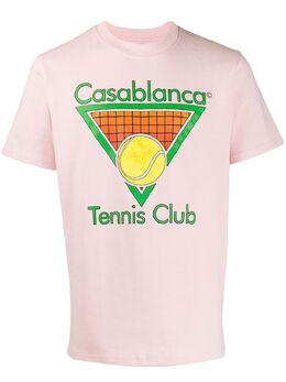 Casablanca футболка Tennis Club MS20TS001