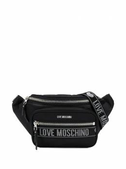 Love Moschino поясная сумка с логотипом JC4280PP0AKO