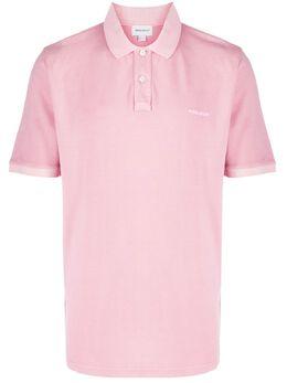 Woolrich рубашка-поло с вышитым логотипом WOPO0012MRUT1483