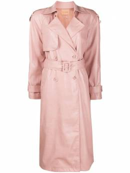 Andamane Claretta double-breasted trench coat Q02R041