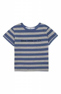 Хлопковая футболка Tartine Et Chocolat TN10041/6M-18M