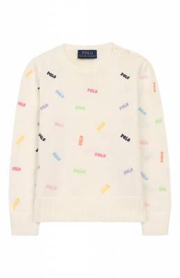 Хлопковый пуловер Polo Ralph Lauren 312787250
