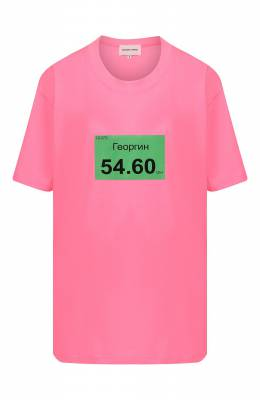 Хлопковая футболка Natasha Zinko R20501-09