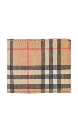 Складной кошелек в клетку Vintage Check Burberry 10188019