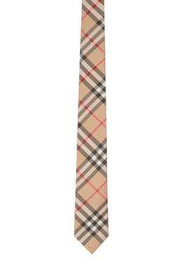 Классический клетчатый галстук Burberry 10187674