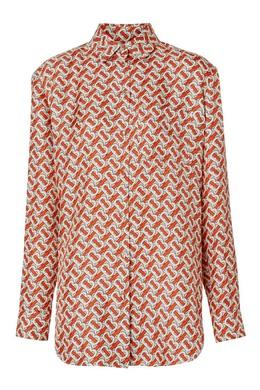 Принтованная рубашка Burberry 10187673