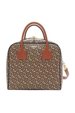 Коричневая сумка-куб Burberry 10187636