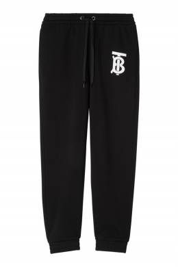 Спортивные брюки с монограммой Burberry 10187975